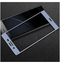 Protection d'écran verre trempé Sony Xperia XZ1 Full Size - Bleu