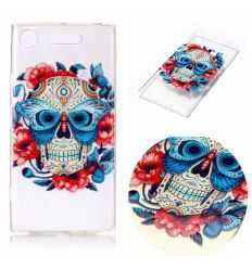 Coque Sony Xperia XZ1 - Butterfly Skull