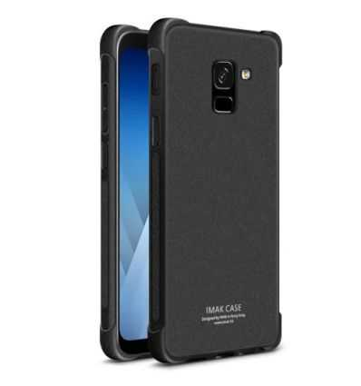 Coque Samsung Galaxy A8 2018 Class Protect - Noir mat