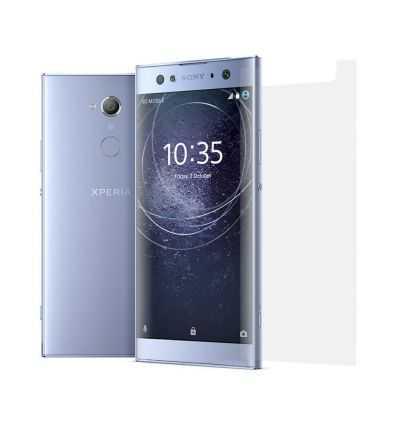 2 protections en verre trempé pour Sony Xperia XA2