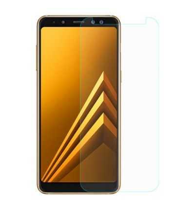 2 protections d'écran Samsung Galaxy A8 en verre trempé