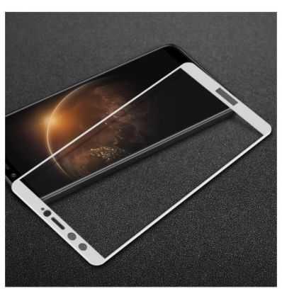 Protection d'écran Verre Trempé Huawei Honor 9 Lite Full Size - Argent