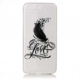 Coque Huawei P10 - Plume Love