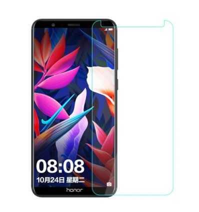 2 protections d'écran Huawei Honor 7X en verre trempé