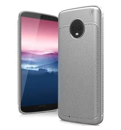 Coque Motorola Moto G6 Gentlemen Series - Gris