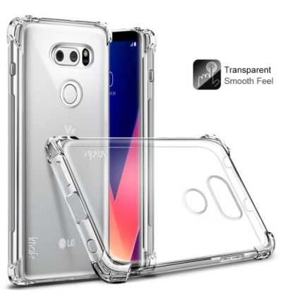 Coque LG V30 Class Protect - Transparent
