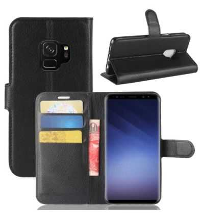 Housse Samsung Galaxy S9 Style Cuir Portefeuille