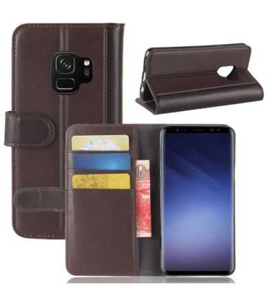 Housse Samsung Galaxy S9 Cuir Premium - Marron