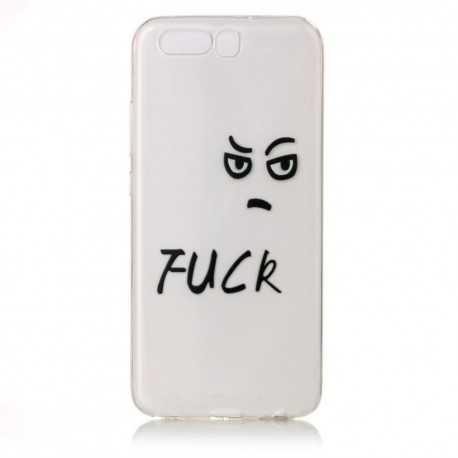 Coque Transparente Huawei P10 - Fuck