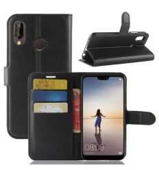 Housse Huawei P20 Lite Portefeuille Style Cuir