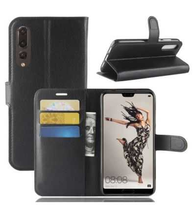 Housse Huawei P20 Pro Portefeuille Style Cuir