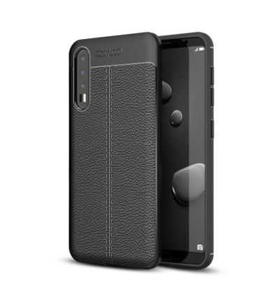 Coque Huawei P20 Pro Style cuir texturé