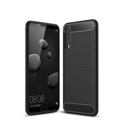 Coque Huawei P20 Pro Carbone brossée