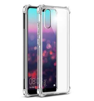 Coque Huawei P20 Class Protect + Protection d'écran - Transparent