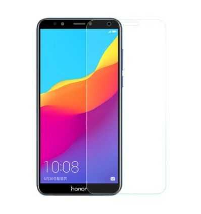 2 protections d'écran Huawei Honor 7C en verre trempé