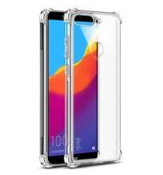 Coque Honor 7C Class Protect + Protection d'écran - Transparent