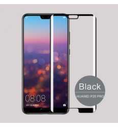 Protection écran en verre trempé incurvée pour Huawei P20 Pro - Noir