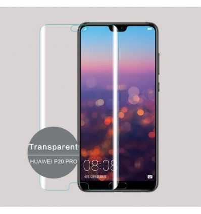 Protection écran en verre trempé incurvée pour Huawei P20 Pro - Transparente