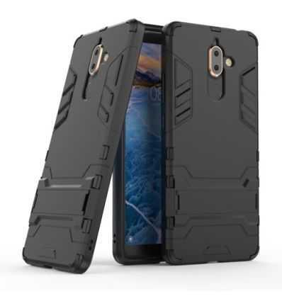 Coque Nokia 7 Plus Cool guard antichoc avec support intégré