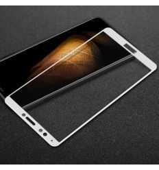 Protection d'écran Verre Trempé Huawei Honor 7C Full Size - Blanc