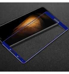 Protection d'écran Verre Trempé Huawei Honor 7C Full Size - Bleu