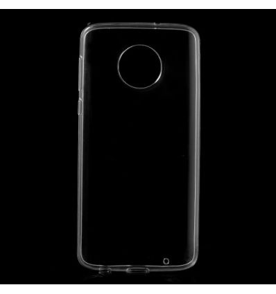 Coque Motorola Moto G6 Plus Silicone Transparent