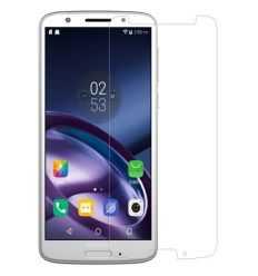 2 protections d'écran Motorola Moto G6 Plus en verre trempé