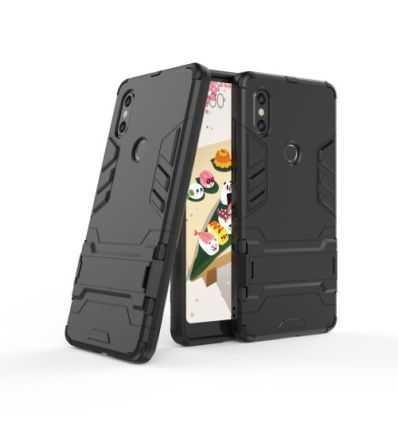 Coque Xiaomi Mi Mix 2s Cool guard antichoc avec support intégré