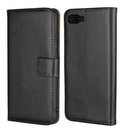 Housse Honor 10 Genuine leather - Noir