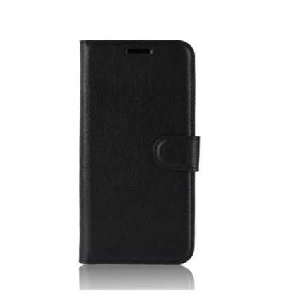 Housse Samsung Galaxy A6 Plus Style cuir portefeuille