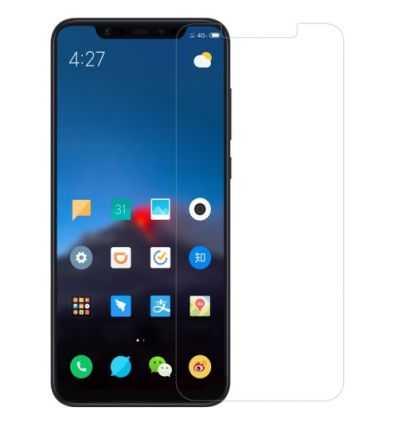 2 protections d'écran Xiaomi Mi 8 en verre trempé