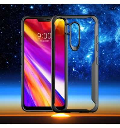 Coque bumper LG G7 ThinQ Protectrice rebords colorés
