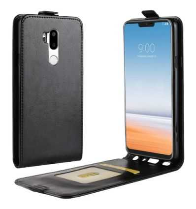 Housse LG G7 ThinQ Simili cuir rabat verticale