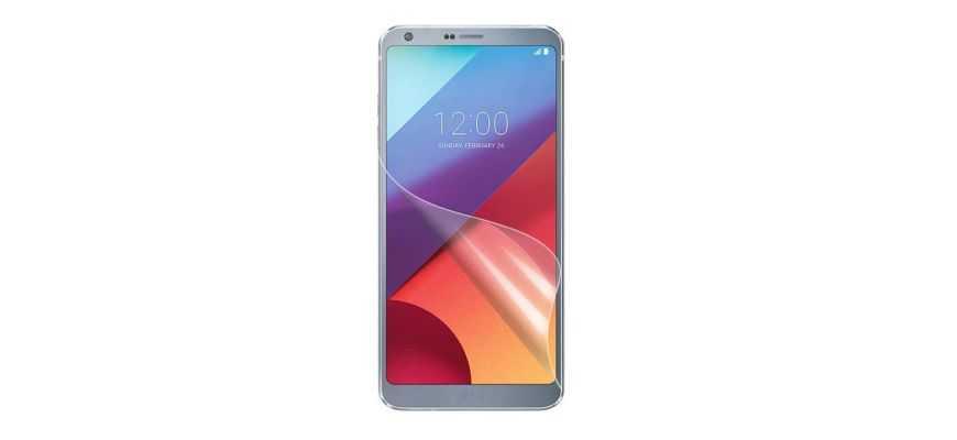 Protections d'écran LG G6